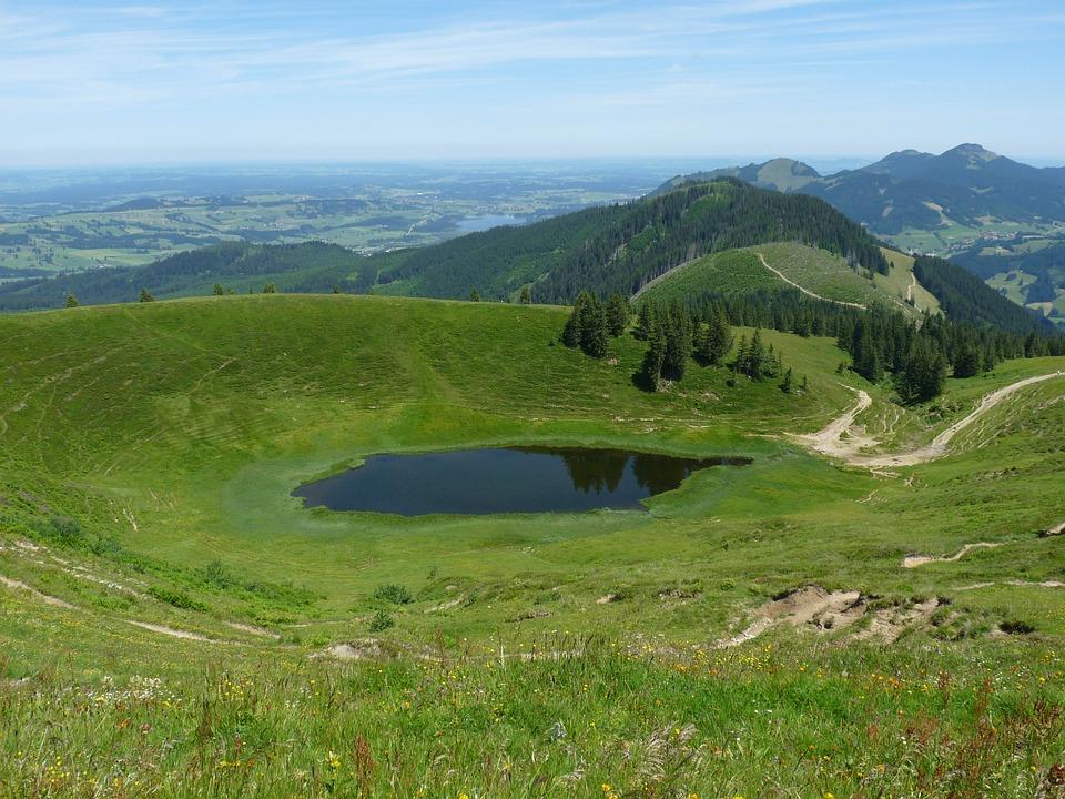Panorama, Bergsee, Lake, Landscape, Mountain Landscape