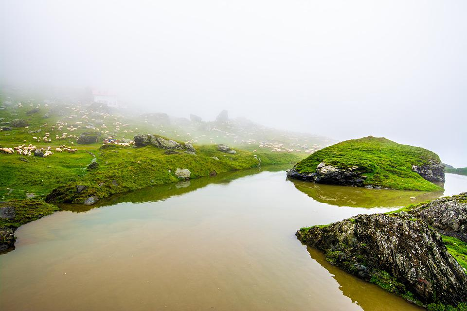 Mountain, Lake, Water, Landscape, Sky, Nature