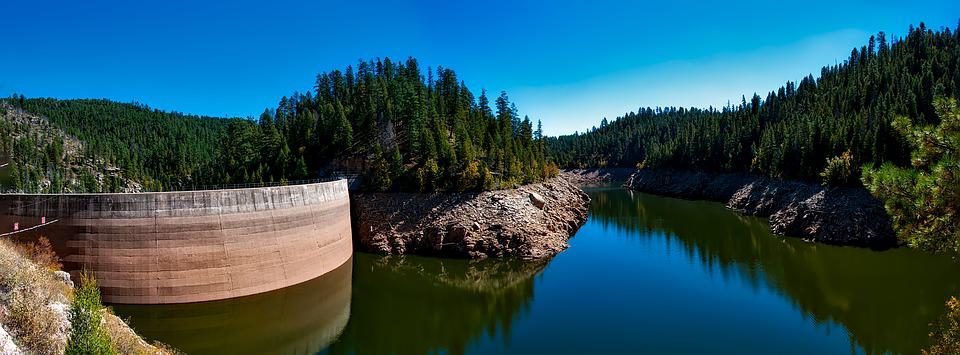 Cragin Reservoir, Lake, River, Landscape, Scenic