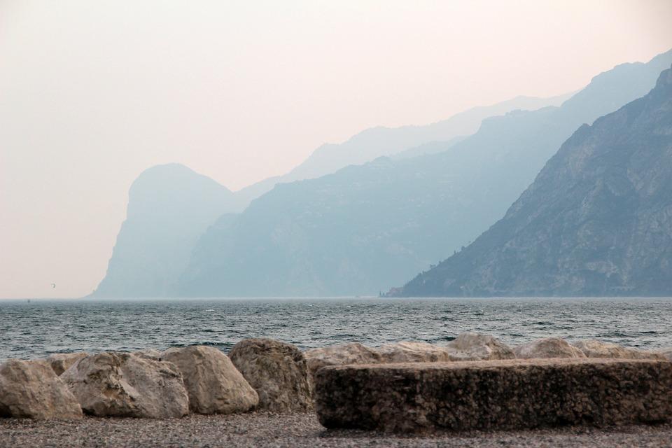 Garda, Italy, Lake, Landscape, Mountains, Water
