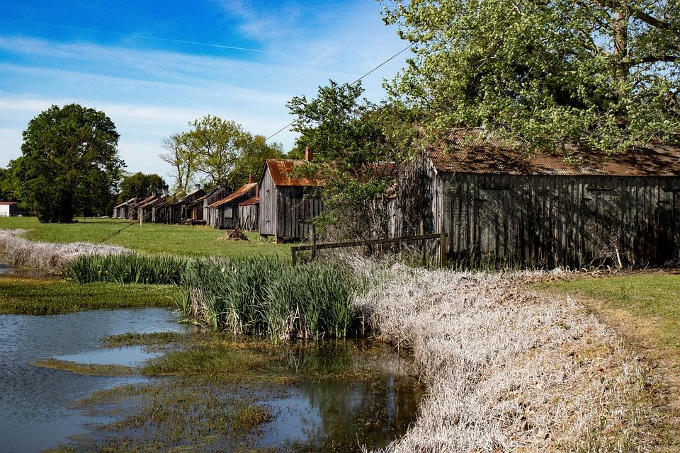 Landscape, Historic, Louisiana, Architecture, Landmark