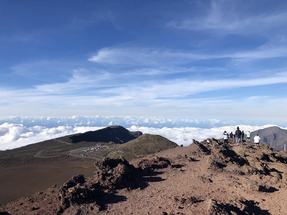 Maui, Hawaii, Haleakala, Nature, Landscape, Crater