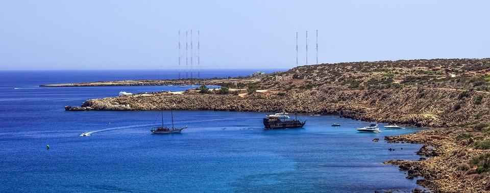 Cyprus, Konnos Bay, Landscape, Mediterranean, Coastline