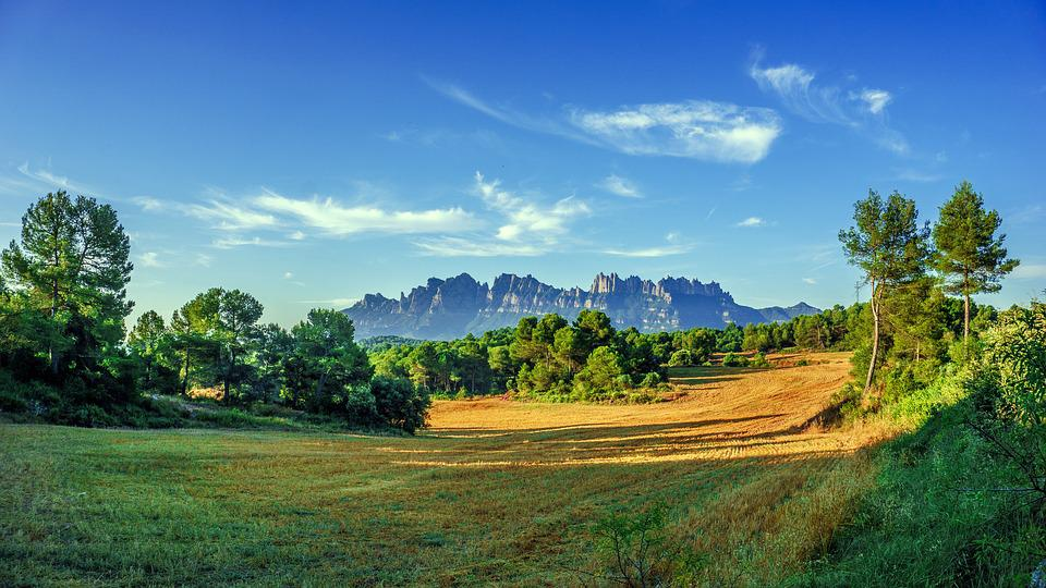 Landscape, Nature, Mountains, Panorama, Montserrat