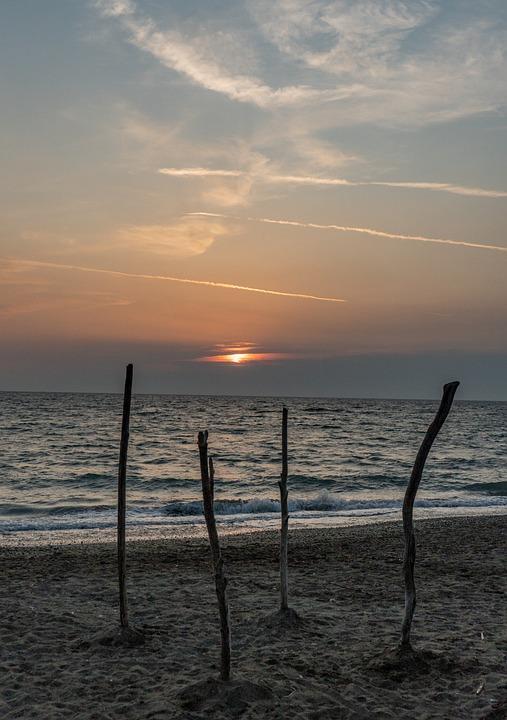 Sun, Sunset, Landscape, Sky, Mood, Nature, Dusk, Clouds