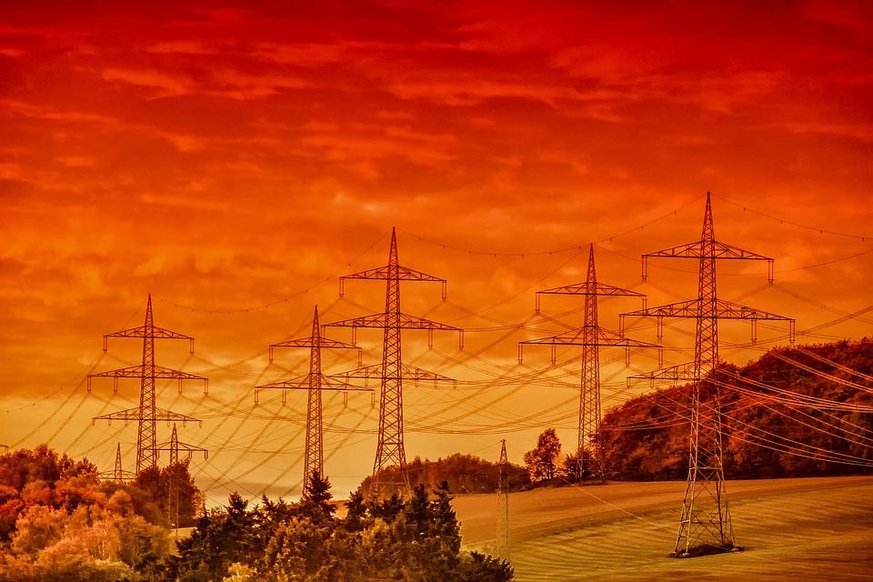 Landscape, Nature, Mood, Electricity, Heat, Sunset
