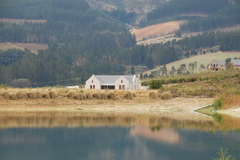South Africa, Landscape, House, More, Mountains