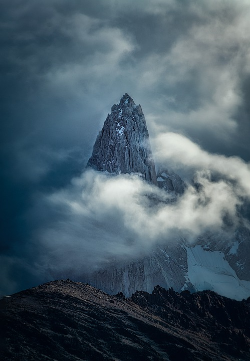 Mountain, Andes, Patagonia, Argentina, Landscape, Rock