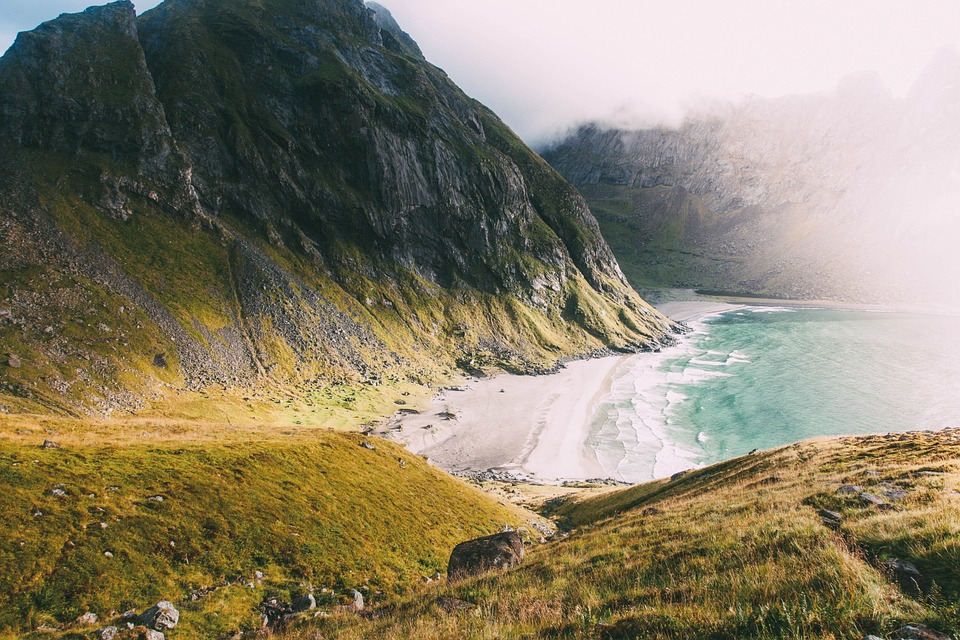 Mountain, Nature, Beach, Landscape, Beautiful, Sky