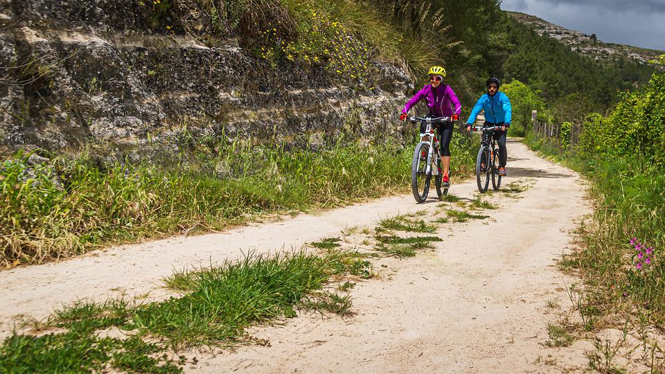 Bicycle Tour, Sport, Fitness, Mountain Bike, Landscape