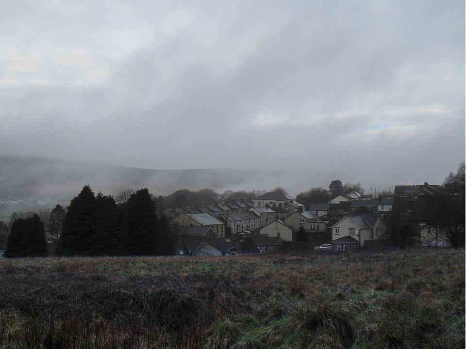 Mist, Landscape, Blaenavon, Mountain