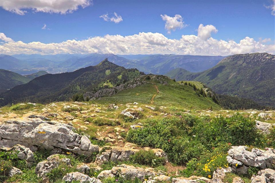 Landscape, Mountain, Nature, Hiking