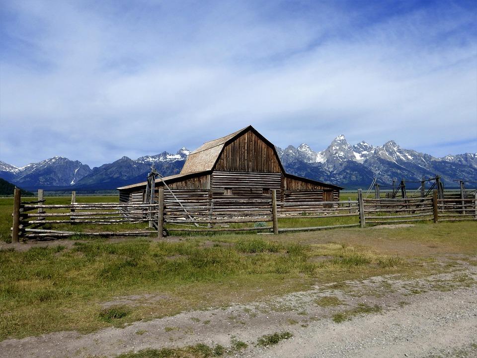 America, Park, Mountain, Landscape, Nature, Grange