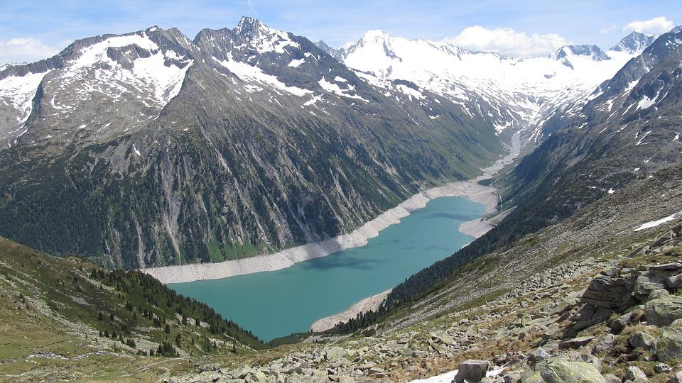 Mountain, Lake, Water, Nature, Landscape, Beautiful