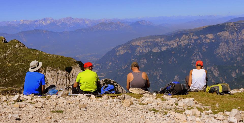 Rest, Pause, Landscape, Mountain, People, Hiking
