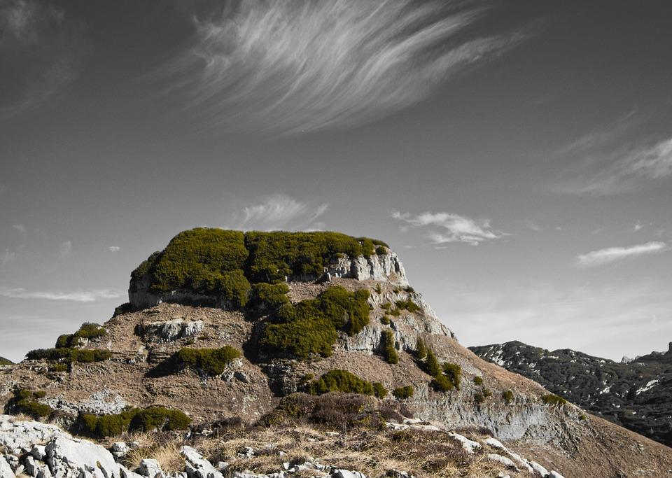 Mountain, Loose, Landscape, Nature, Sky, Panorama