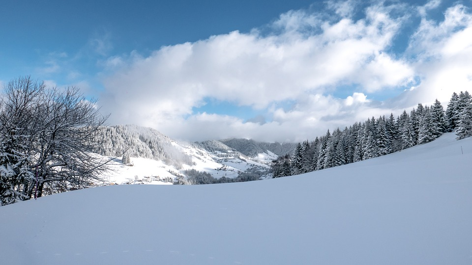 Snow, Winter, Cold, Frost, Ice, Mountain, Landscape