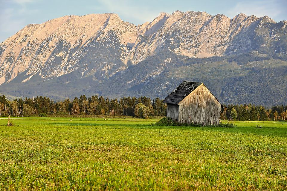 Nature, Landscape, Mountains, Mountain World, Hut