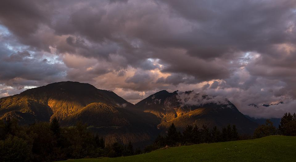 Landscape, Mountains, Weather, Weather Mood, Clouds