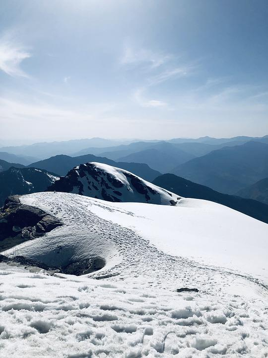 Ice, Snow, Landscape, Bubble, Hiking, Mountains
