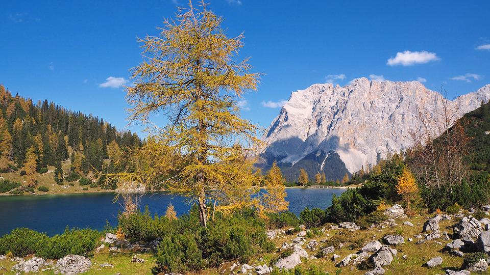 Nature, Landscape, Mountains, Mountain World, Lake