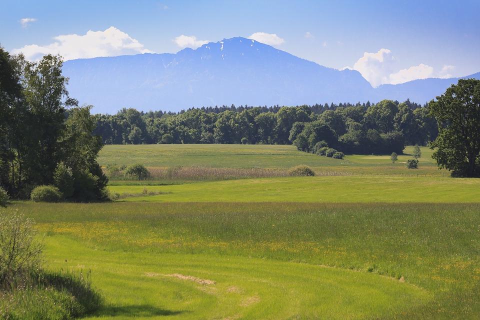 Landscape, Chiemgau, Bavaria, Nature, Mountains