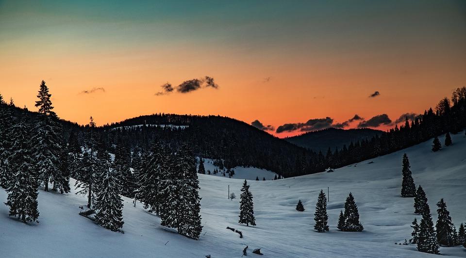 Sunrise, Mountains, Nature, Landscape, Mood