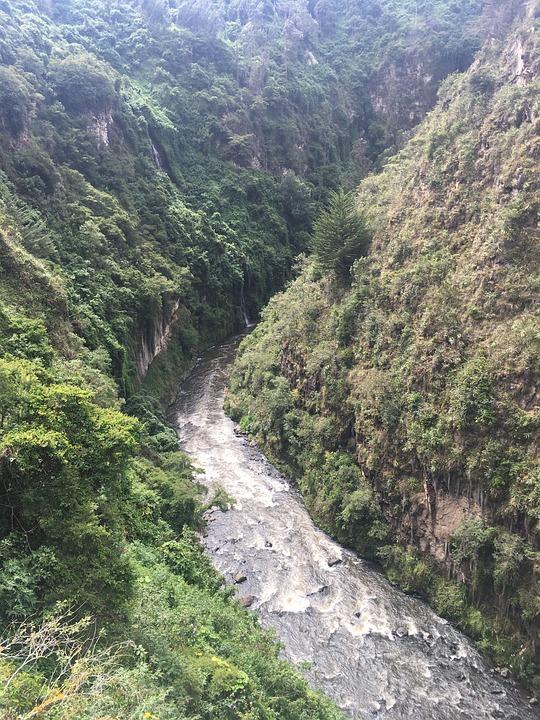 Canon, River, Landscape, Nature, Mountains, Rocks