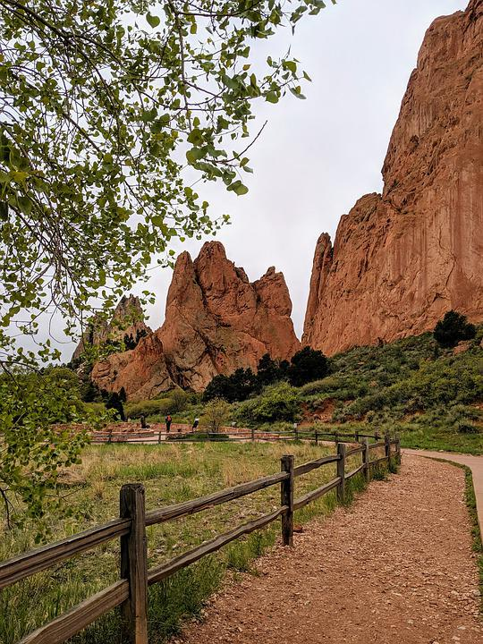 Colorado, Red Rocks, Mountains, Rock, Red, Landscape