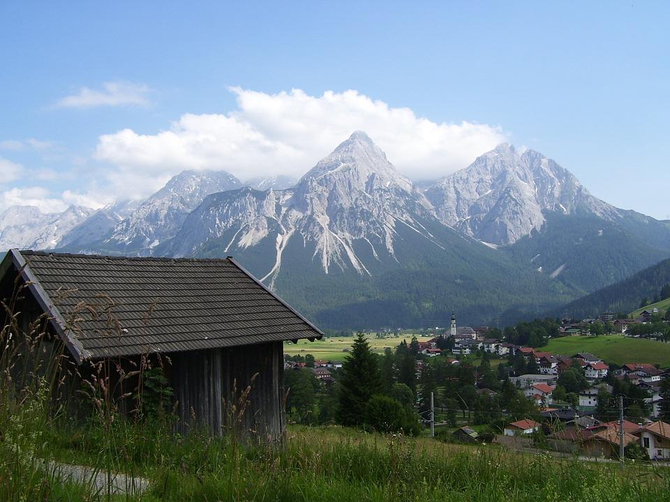 Sonnespitze, The Alps, Mountains, Landscape