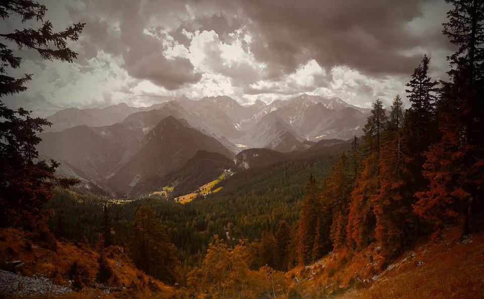 Slovenia, Mountains, Landscape, Nature, Woods, Outdoors