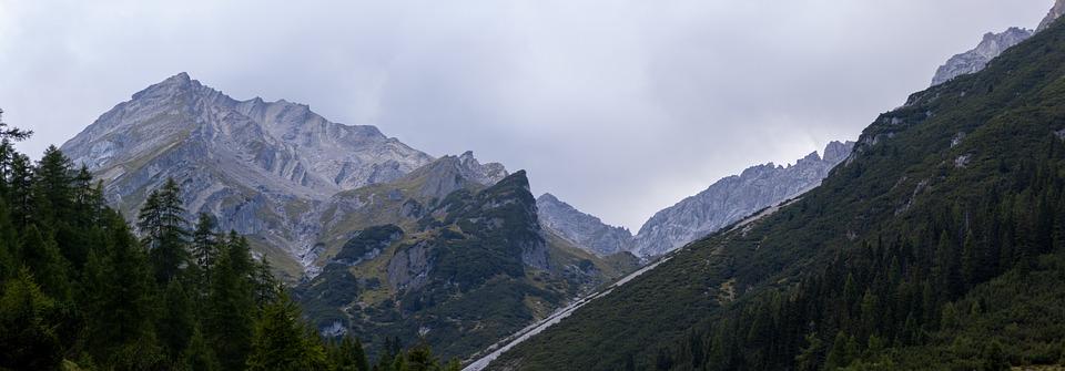 Mountains, Muttekopf, Alps, Peak, Landscape, Austria