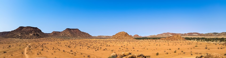 Africa, Namibia, Landscape, Dry, Heiss, Nature, Hill