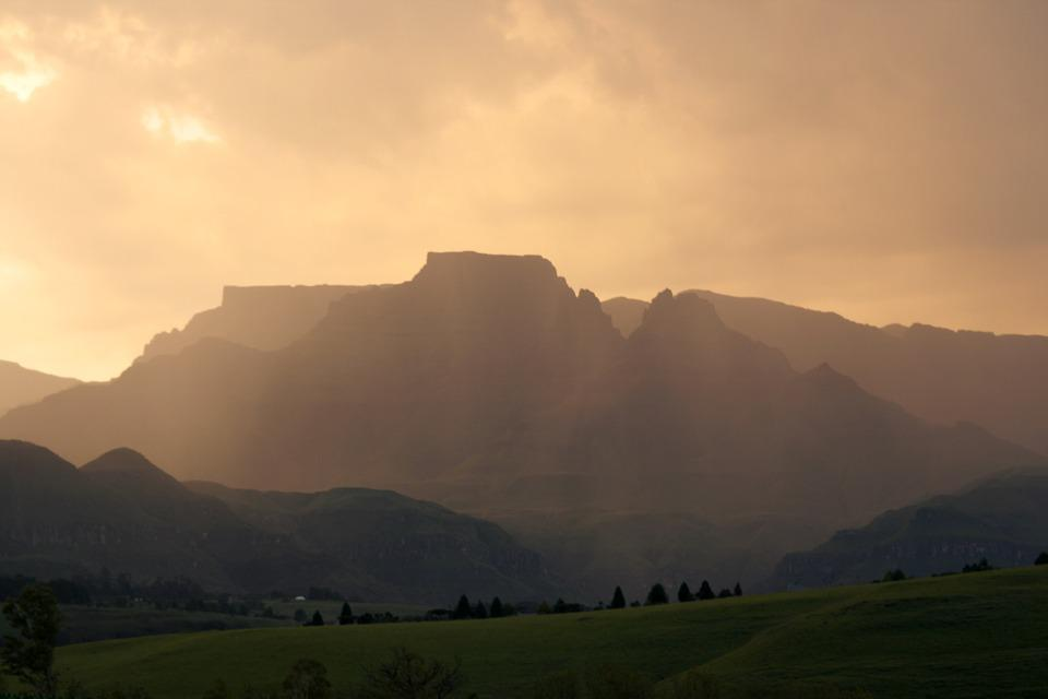 South Africa, Drakensburg, Mountains, Landscape, Natal