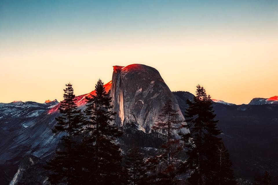 Yosemite, National Park, Tourism, Mountains, Landscape