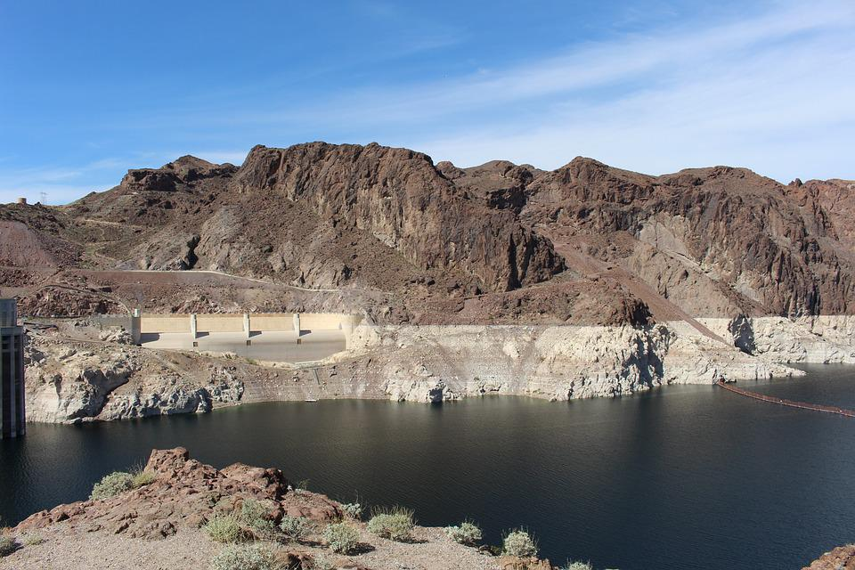 The Hoover Dam, Canada, Sky, Natural, Landscape