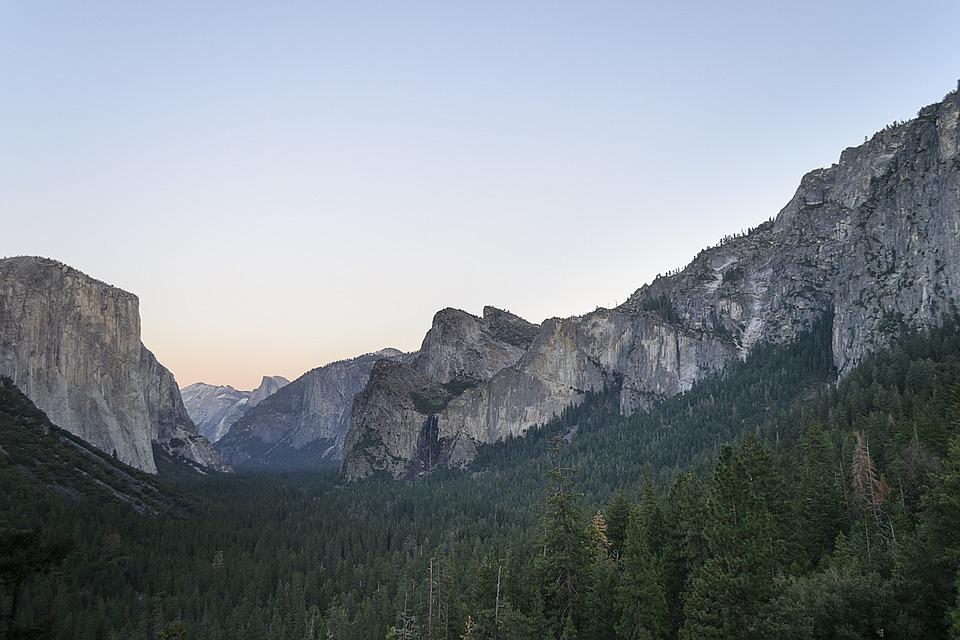 Yosemite, National Park, California, Landscape, Nature