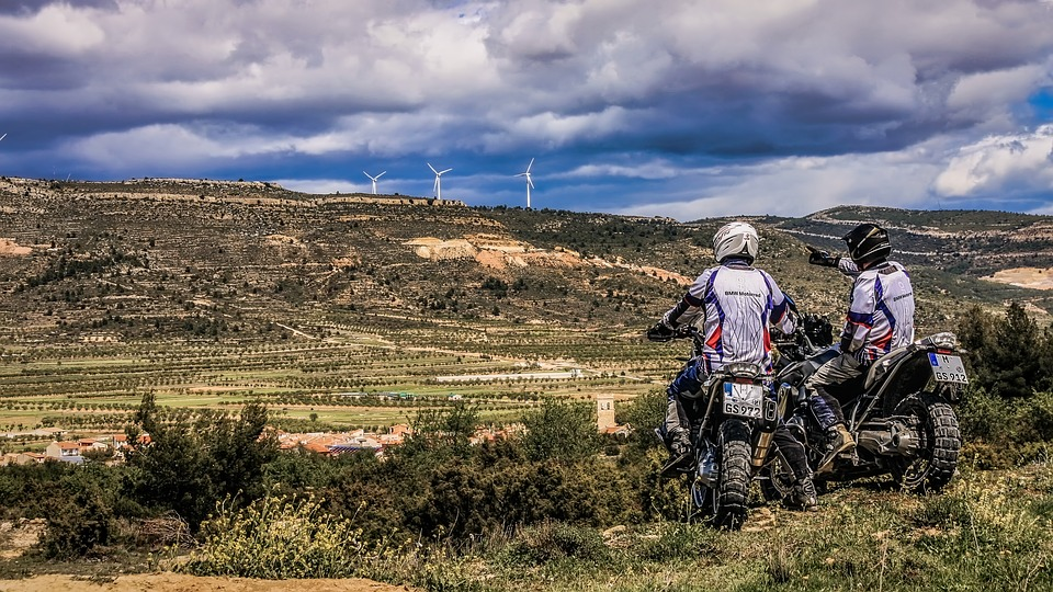 Enduro, Bmw, Motorbike, Nature, Outdoors, Landscape