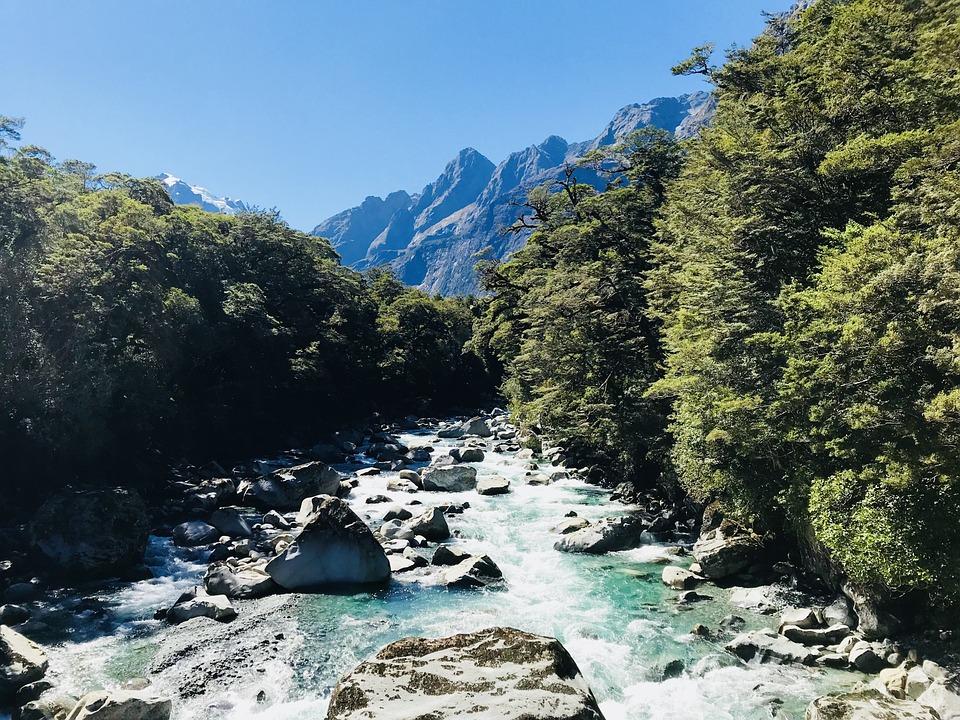 Nature, Water, Rock, Mountain, Landscape
