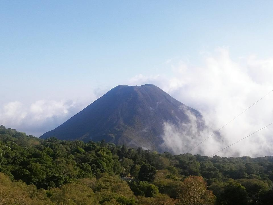 Mountain, Nature, Landscape, Sky, Travel, Volcano