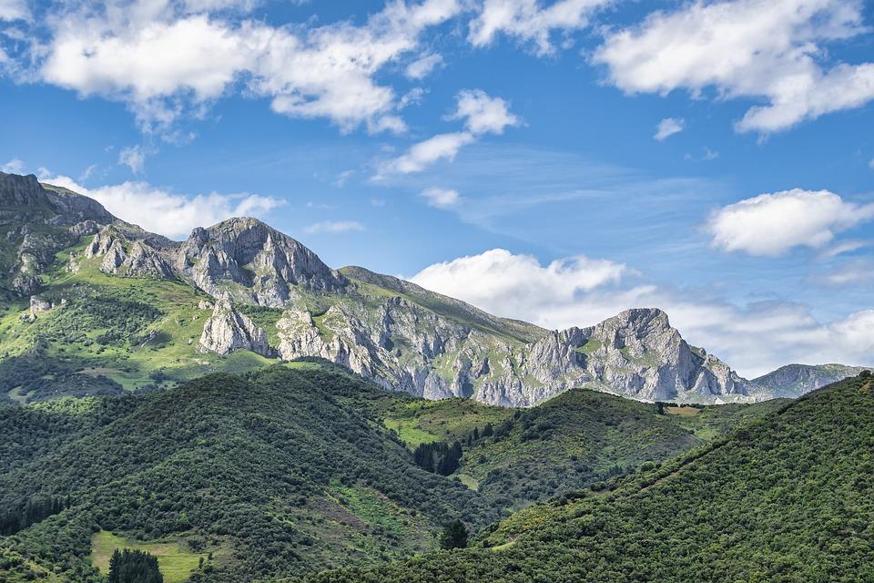 Mountains, Nature, Spain, Landscape, Cantabria