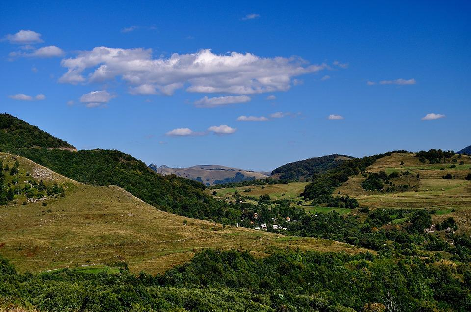 Landscape, Hill, Nature, Sky, Outdoor, Forest, Summer