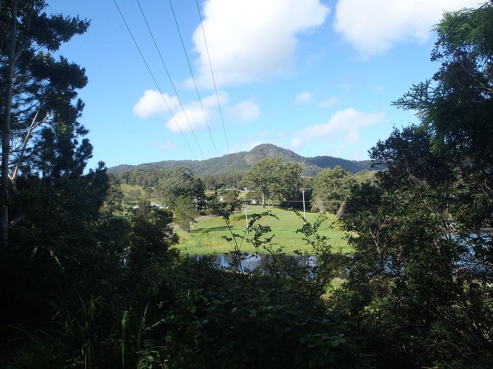 Outlook, Landscape, Nature, Clouds