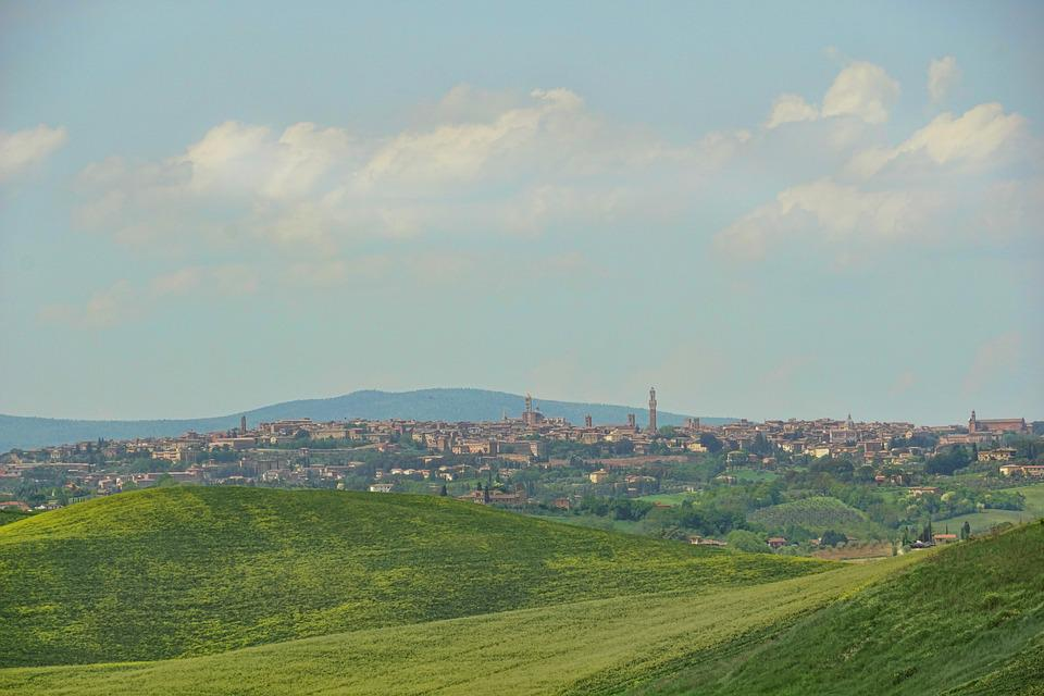 Panorama, Nature, Sky, Agriculture, Landscape, Hill
