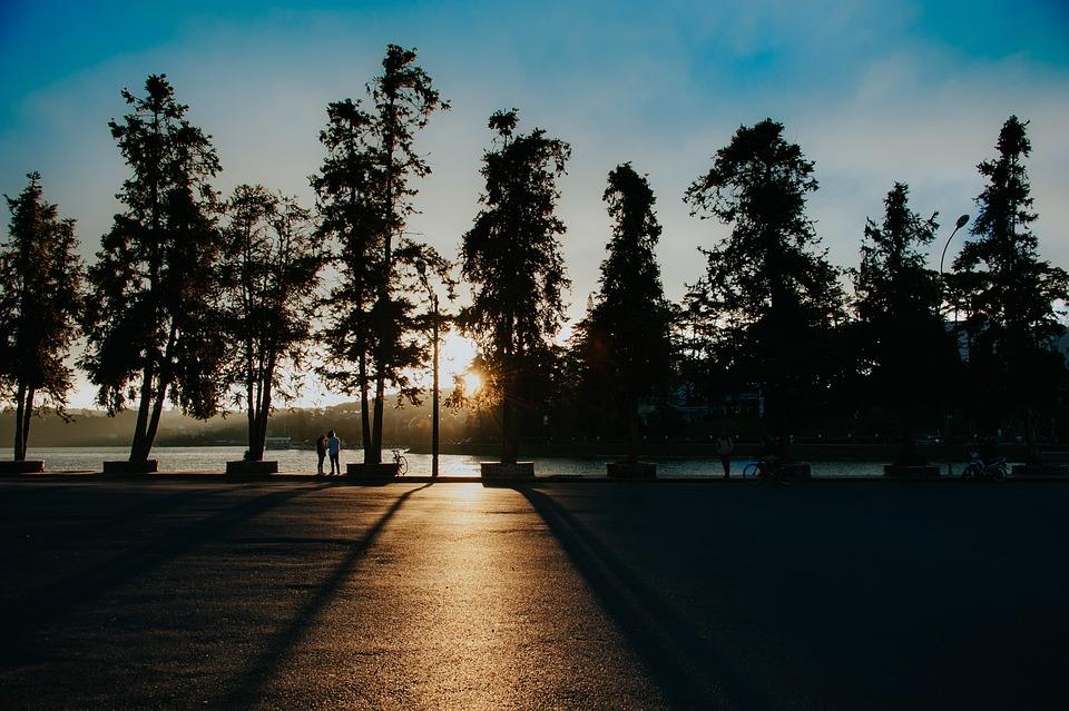Landscape, Sunrise, People, Nature, Outdoors, Child