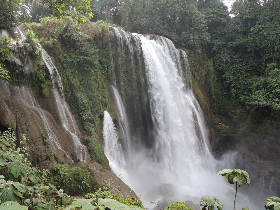 Landscapes, Landscape, Waterfall, Nature, Pullapanzak