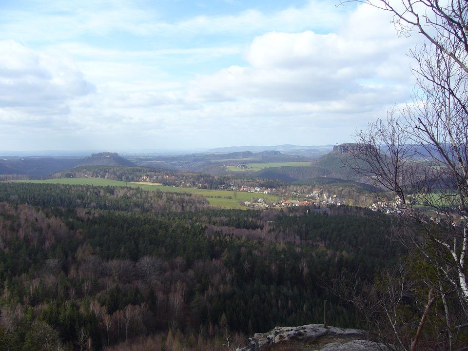 Saxon Switzerland, Lily Stone, Landscape, Nature
