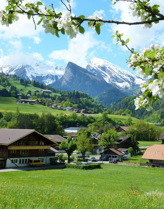 Mountain, Nature, Seasons, Landscape, Spring