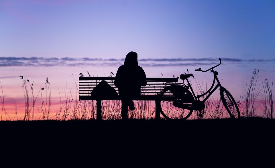 Sunset, Silhouette, Twilight, Landscape, Nature