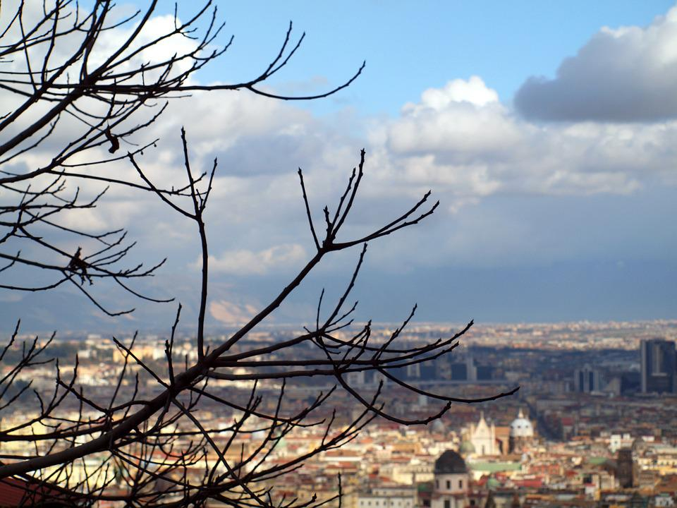 Napoly, Landscape, Italy, Sky, Nature